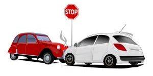 2 Autos nach Unfall