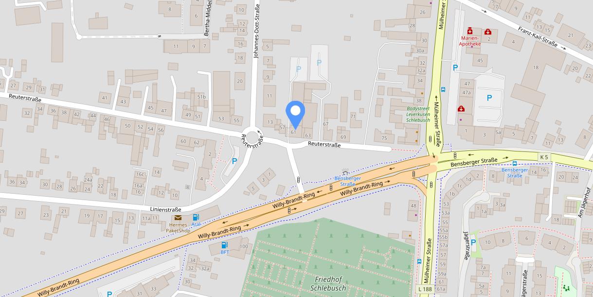 OpenStreetMap-Karte