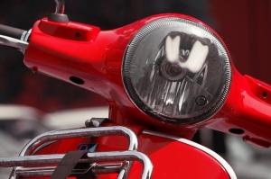 Scheinwerfer Motorroller
